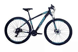 Bicicleta Aro 29 OGGI Hacker Hds 2019 24V Preto/Azul