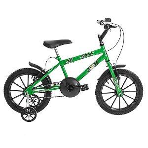 Bicicleta Aro 16 Ultra Bikes Kids Verde
