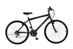 Bicicleta Aro 24 South Bike 18V Preta Masculina