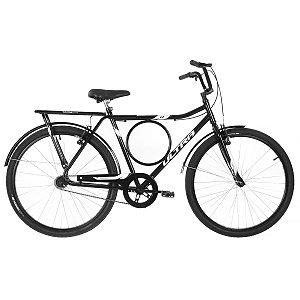 Bicicleta Aro 26 Ultra Barra Stronger Preta