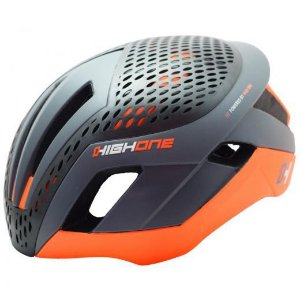 Capacete High One Pro Space Cinza/Laranja