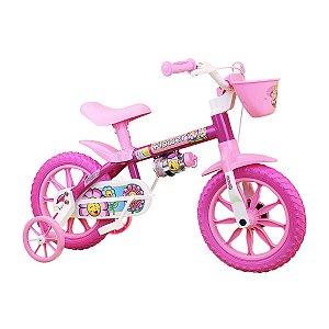 Bicicleta Aro 12 Nathor Rosa