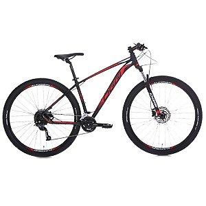 Bicicleta Aro 29 OGGI Big Wheel 7.0  18V Preto/Vermelho Lançamento 2020