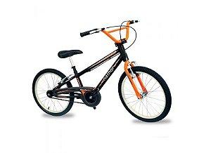 Bicicleta Aro 20 Nathor Apollo Preto/Laranja
