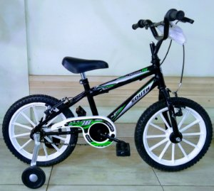 Bicicleta Aro 16 South Bike Ferinha Preto