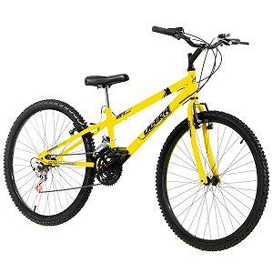 Bicicleta Aro 26 Ultra Bike Rebaixada 18V Amarelo