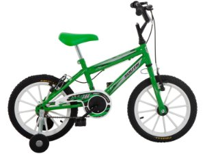 Bicicleta Aro 16 South Bike Ferinha Verde