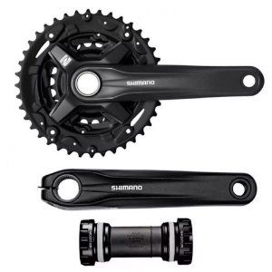 Pedivela Shimano Deore XT M210 c/ Movimento Central