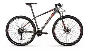 Bicicleta Aro 29 Sense Rock Evo 18V Preto/Vermelho Lançamento 2020
