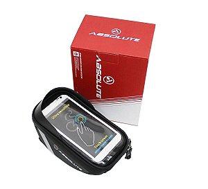 Bolsa de Quadro Smartphone Absolute Preto com Touch Impermeável