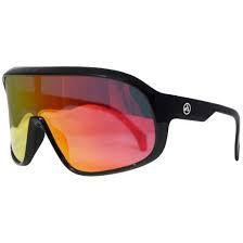 Óculos Absolute Nero Preto com Lente Vermelha