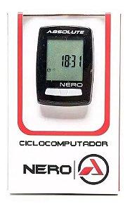 Ciclocomputador Absolute Nero 10 Funções Preto