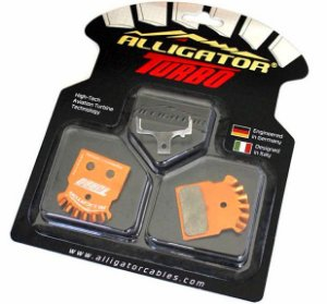 Pastilha de Freio Alligator Turbo Semi Metalica