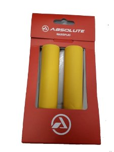 Manopla Absolute Silicone Amarelo