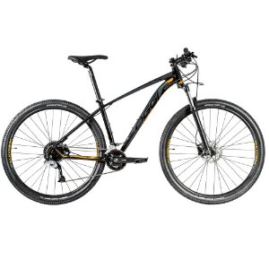 Bicicleta Aro 29 OGGI Big Wheel 7.1 18V Preto/Garfite/Laranja Lançamento 2020