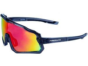 Óculos Absolute Wild Preto com Lente Vermelha