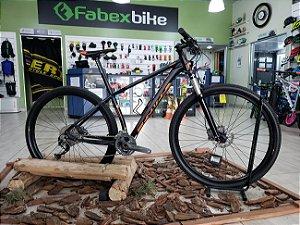 Bicicleta Aro 29 Sense Impact Pro 27 Vel 2018 Seminova Tamanho 17 Preto/Laranja