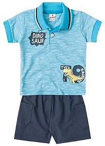 Conjunto Polo Bebê Dino