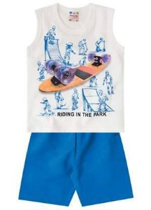 Conjunto Regata Skate Brandili