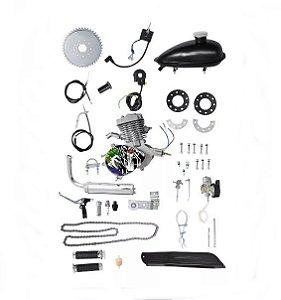 Kit Motor 80cc Completo Moskito
