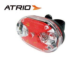 Farol Traseiro Para Bike Com Suporte - Lanterna