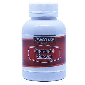 Guarana com Ginseng - 120 capsulas