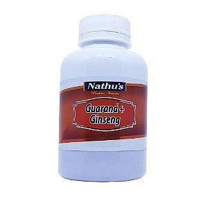 Guarana com Ginseng 500mg - 120 capsulas