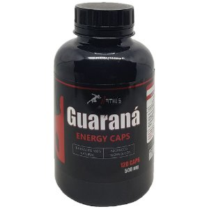Guaraná Energy Caps 500mg -120 cápsulas