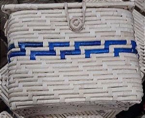 Bolsa Maré Alça de Ombro Retangular Colorida
