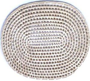 Suplar Palha de Carnaúba Vazado Oval 45X33cm