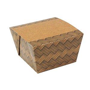 Caixa box antivazamento To Go mini - biodegradável - 10 unidades