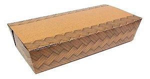 Caixa box antivazamento To Go extra grande - biodegradável - 10 unidades