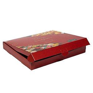 Caixa para doces e salgado Tam G - red - 10 unidades