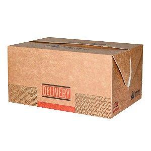 Caixa box antivazamento multiuso delivery- biodegradável - 10 unidades