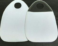 Lixeira para carro neoprene em branco - 20 unidades