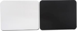 Mousepad branco para sublimação retangular - 100 unidades