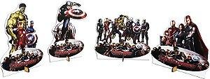 Display de mesa Vingadores - 8 unidades