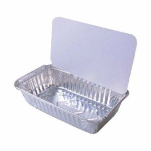 Embalagem de aluminio marmita 500 ml - 100 unidades