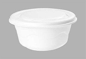 Marmitex 500 ml redonda - caixa com 100 unidades