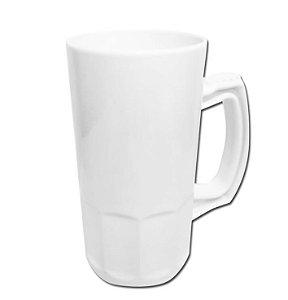 Caneca de Chopp branco para sublimaçao 400 ml - 20 unidades