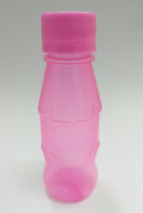 Garrafinha mini cola - rosa  30 unidades