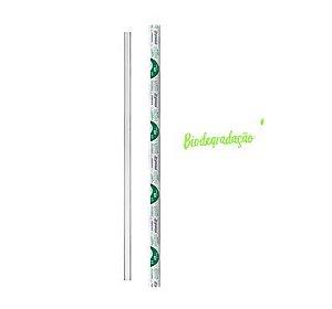 Canudo Biodegradável 5 x 19,5  - 500 unidades