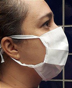 Mascara de tnt duplo com tiras de amarrar - 50 unidades