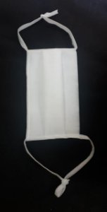 Mascara de tnt tecido 2 camadas 50  unidades