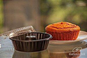 Forma de bolo forneavel com tampa G 234 - 10 unidades