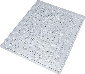 Forma de mini alfabeto ref. 9743 - 10 unidades