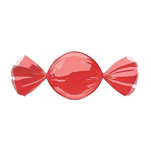 Embalagem para trufa ou bombom vermelha 14,5x15,5 - 100 unidades