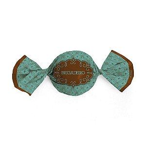 Embalagem para trufa ou bombom brigadeiro 14,5x15,5 - 100 unidades