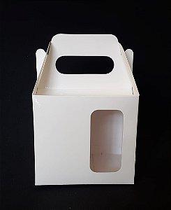 Caixinha de sublimação c/ visor  para caneca - 100 unidades