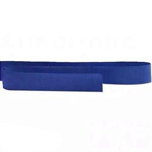 Fita de cetim liso azul marinho 10,5 mm x 10 m com 01 unidades